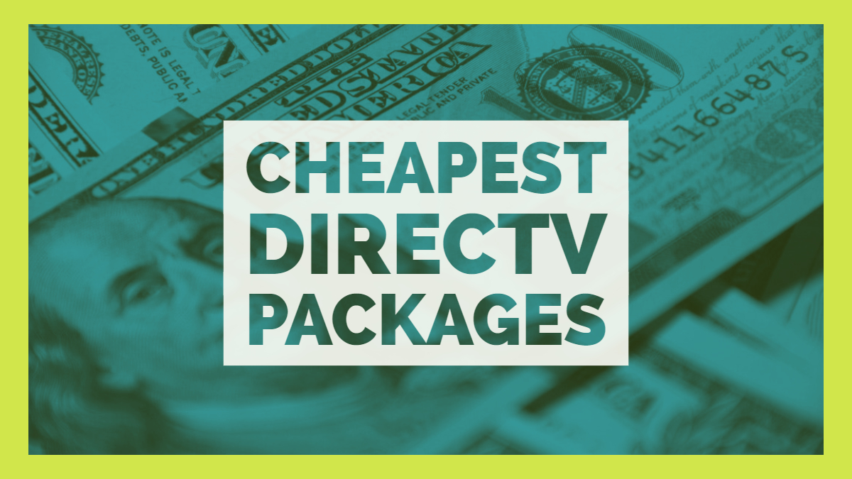 Cheapest DirecTV Packages for Existing Customers