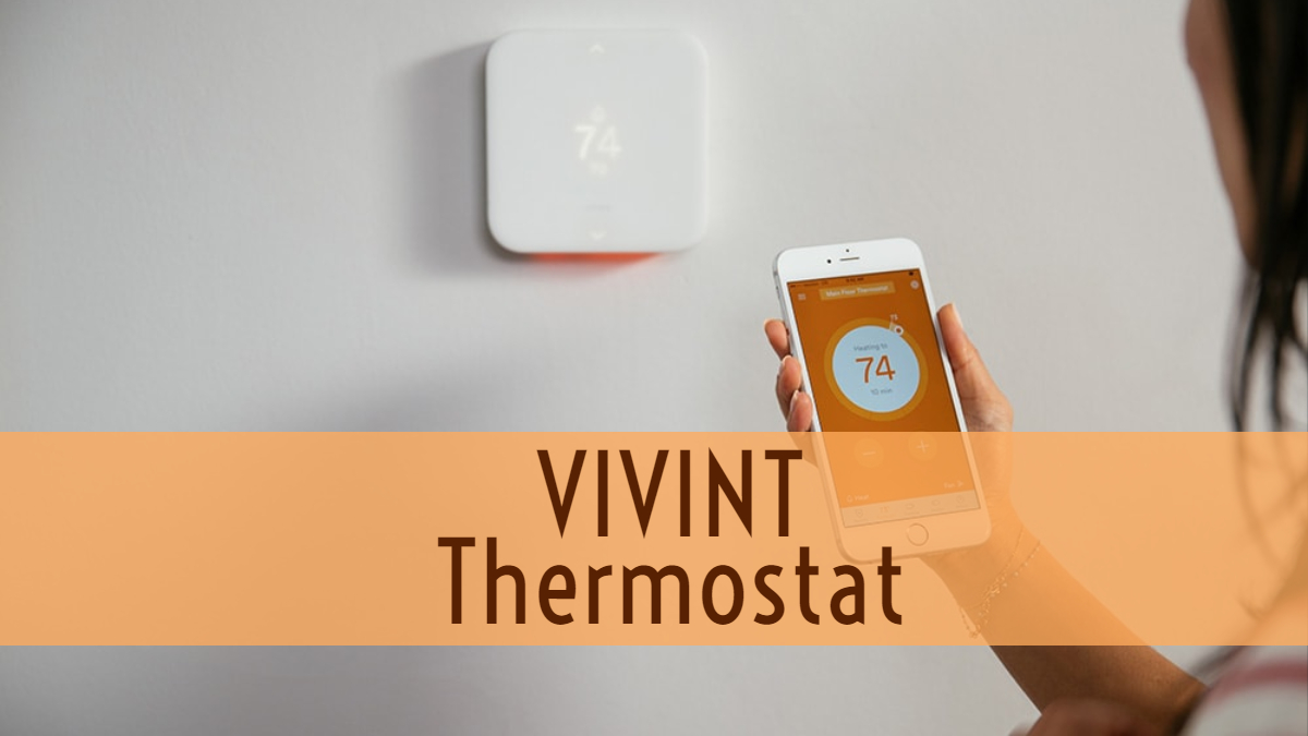Vivint AC Thermostat